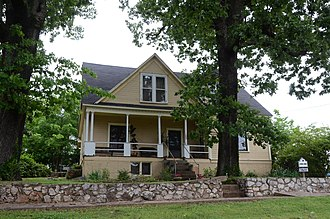National Register of Historic Places listings in Cherokee County, Oklahoma - Image: Alston Bedwell House