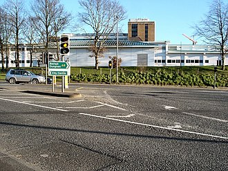 A6 road (Northern Ireland) - Image: Altnagelvin Junction