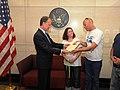 Ambassador Cunningham Receives Letter From Civil Drafting Chamber Representatives for Gilad Shalit (4732391405).jpg