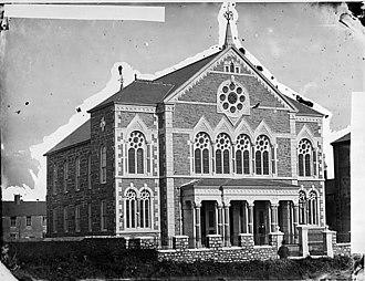 William Ambrose (Emrys) - Ambrose memorial chapel, Porthmadog, c.1875