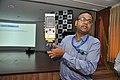 Amitava Akuli Demonstrates CDAC Handheld Electronics Nose - NCSM - Kolkata 2018-04-23 0282.JPG