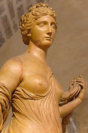Statue d'Amphitrite par Y.Collet