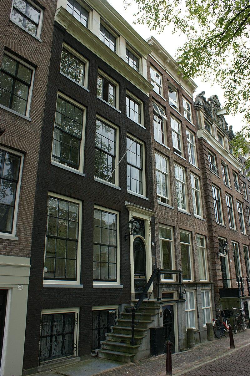 Huis met rechte lijst in amsterdam monument for Lijst inrichting huis