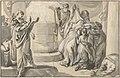 An Antique Sacrificial Scene; verso- Sketch of a Group of People MET DP830544.jpg