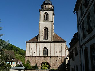 Andlau -  Church of Saint-Peter-and-Saint-Paul (11th-18th centuries)