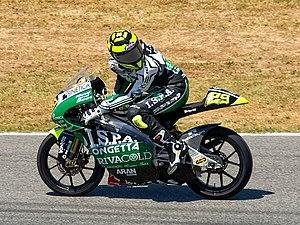 Andrea Iannone - Iannone at the 2009 Catalan Grand Prix
