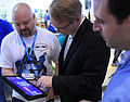 Andrew Parsons demonstrates the new Start experience (6857361226).jpg