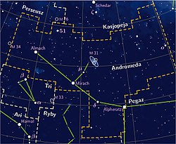 Andromeda constellation PP3 map PL.jpg