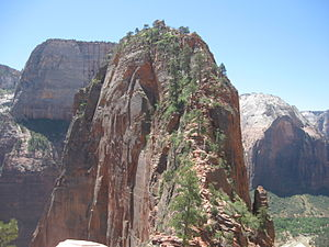 Angels Landing - Image: Angel's Landing Summit