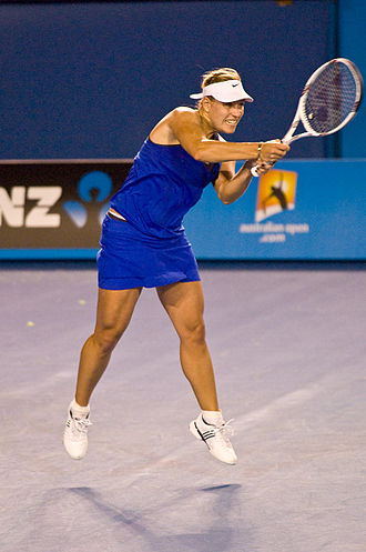 Angelique Kerber - Kerber at the 2010 Australian Open