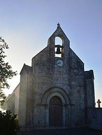 Angliers, Charente-Maritime, Church.JPG