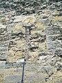 Angy (60), maison du XIIIe siècle, mur pignon sur la rue de l'Église 2.jpg