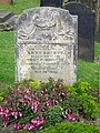 Anne Bronte's tombstone - geograph.org.uk - 192386.jpg