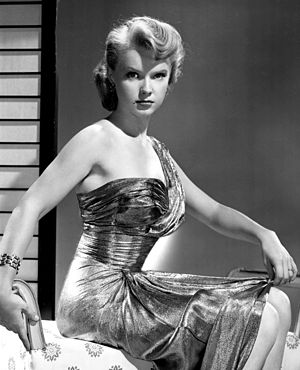 Anne Francis - Studio publicity photo from the 1950s