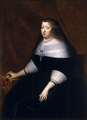 Anne of Austria in mourning by Charles Beaubrun.png