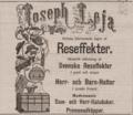 Annons Joseph Leja i Dagens nyheter 18 april 1882.png