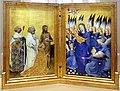 Anonimo inglese o francese, dittico wilton, 1395-99 ca. 01.jpg