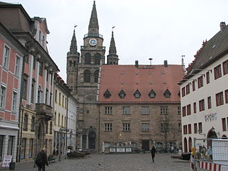 Ansbach - Image: Ansbach Centre