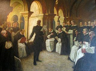 Camões reading «Os Lusíadas» to the Friars of São Domingos