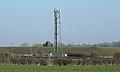 Antenna mast, Crosshill Reservoir.jpg