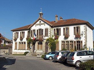 Anthy-sur-Léman - The town hall in Anthy-sur-Léman