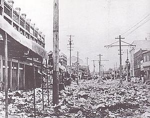 Pyongyang - The aftermath of the Wanpaoshan Incident