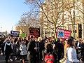 Anti Trump Womens March London Womens March January 21 2017 (12) (31602356004).jpg