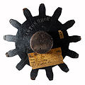 Antique foundry pattern of a gear by Canton Shop.jpg
