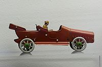 Antique tin toy red limousine (26081959532).jpg