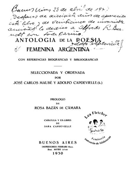 File:Antologia Poesia Femenina Argentina.djvu
