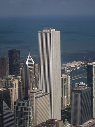 Aon Center (Chicago) - from southwest