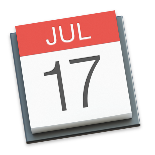 Apple Calendar Icon