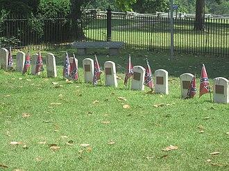 Appomattox Court House National Historical Park cemeteries - Confederate cemetery at Appomattox Court House National Historical Park