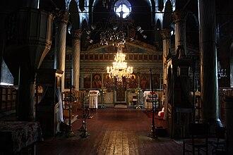 Kostenets (village) - Image: Archangel Michael Church interior