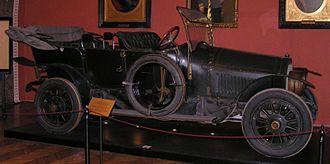 Jump seat - Image: Archduke car