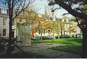 Archibald Simpson - Archibald Simpson Memorial (1975), Bon Accord Square, Aberdeen