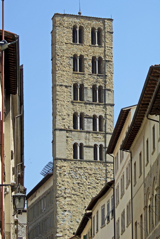 Arezzo Campanile - Santa Maria della Pieve