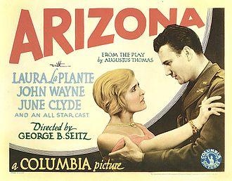 Arizona (1931 film) - Image: Arizona lobbycard 1931