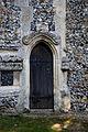 Arkesden Church of St Mary belfry door, Essex, England.jpg