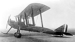 Armstrong Whitworth F.K.3 - Armstrong Whitworth F.K.3 in 1915.
