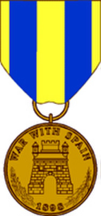 Spanish Campaign Medal - Image: Army Spanish Campaign Medal