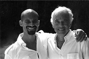 Arnaldo Anaya-Lucca - Ralph Lauren with photographer Arnaldo Anaya-Lucca (2003)
