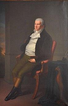 Aron Elias Seligmann (1747–1824), Gemälde von Johann Peter Langer. (Quelle: Wikimedia)