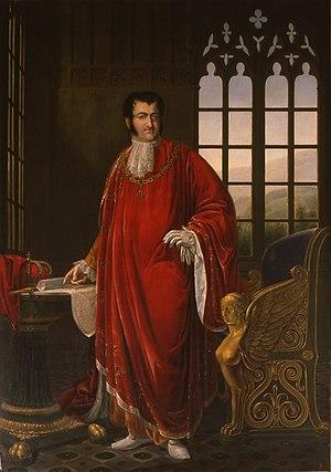 Josep Arrau i Barba - Portrait of Fernando VII (1833)