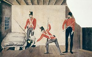 Rum Rebellion - Image: Arrest of Govenor Bligh