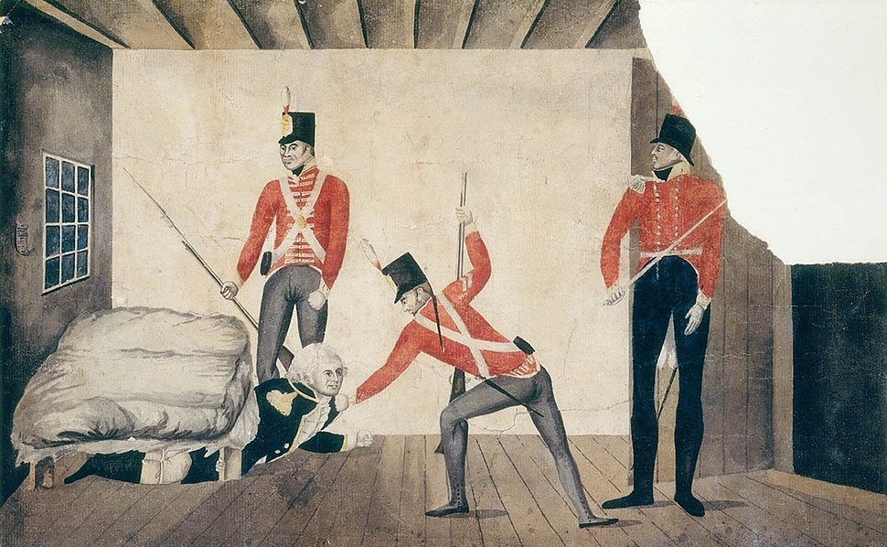 Arrest of Govenor Bligh