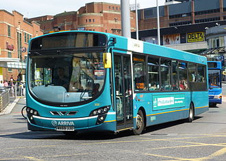 Arriva North West - VDL/Wright Pulsar 2 in Liverpool in June 2014