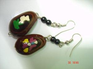 La Palma, Chalatenango - Locally made earrings