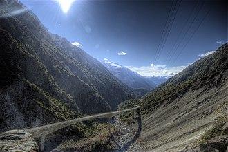 Arthur's Pass (mountain pass) - Image: Arthur's Pass