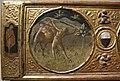 Artista fiorentino o senese, fatiche di ercole con stemmi ginazzi e boni, 1425-1450 ca. 02.JPG